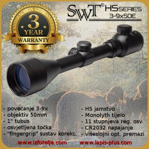 SWT HS 3-9x50E (25.4)