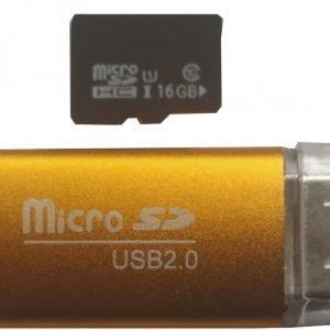 Micro SD kartica 16GB i čitač kartica