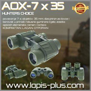 AOX-7×35 Dvogled